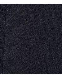 Top asymétrique en maille Stella McCartney en coloris Blue