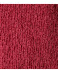 Gabriela Hearst Red Pullover Kimber aus Kaschmir