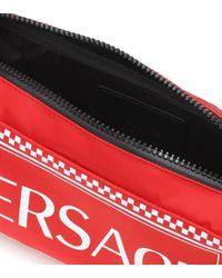 Versace Red Bedruckte Gürteltasche