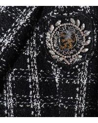 Blazer in tweed di MSGM in Black