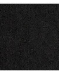 Stella McCartney Black Long-sleeved Cropped Top