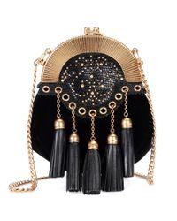 Miu Miu Black Velvet Shoulder Bag