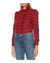 Jeans Caolo cropped di Étoile Isabel Marant in Blue