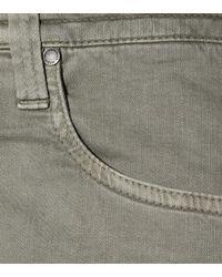 Brunello Cucinelli Green The Drawstring Boyfriend Jeans