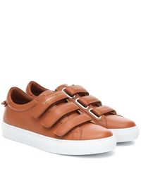 Baskets Urban Street en cuir Givenchy en coloris Brown