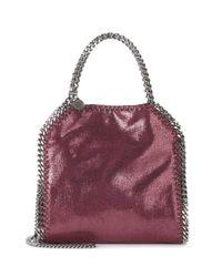 Stella McCartney Purple Falabella Mini Shoulder Bag