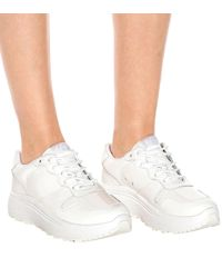 Eytys White Sneakers Jet aus Lackleder
