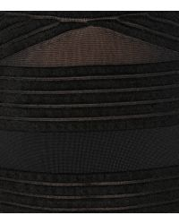 Robe Hanbury midi à encolure bardot Roland Mouret en coloris Black