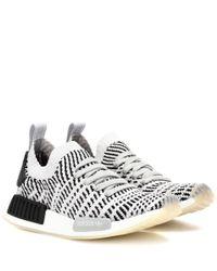 Baskets NMD_R1 Adidas Originals en coloris White