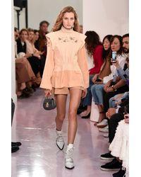 Chloé Brown Cotton Shorts