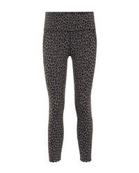 Varley Gray Caramona Printed leggings