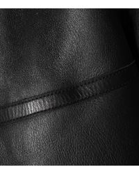 Acne Black Shearling Jacket