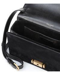 Saint Laurent Black Medium Bellechasse Shoulder Bag