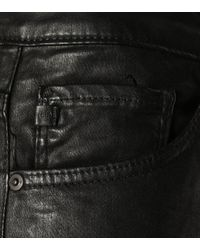 AG Jeans Black The Farrah High-waisted Trousers