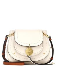 See By Chloé Natural Schultertasche Susie Small aus Leder
