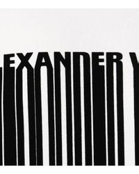 Alexander Wang - White Oversized Cotton Sweatshirt - Lyst
