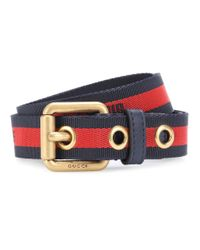 Gucci Multicolor Web Belt