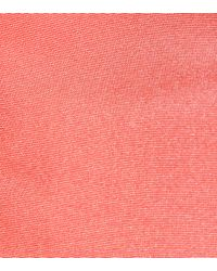 Carolina Herrera Pink Silk-faille Midi Dress