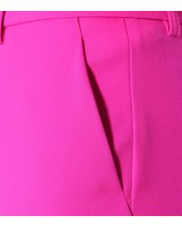 Emilio Pucci Pink Cropped-Hose aus Wolle