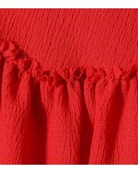Rejina Pyo Red Kleid Renata aus Crêpe