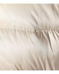 Moncler Natural Tatie Fur-trimmed Down Jacket
