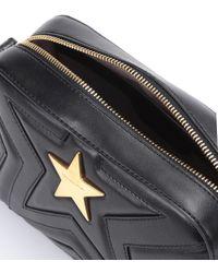 Bolso al hombro Stella Star Small Stella McCartney de color Black