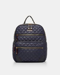 MZ Wallace Blue Crosby Backpack Traveler