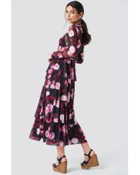 NA-KD Multicolor Mesh Layered Dress