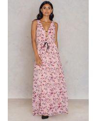 Oh My Love Pink Perpignan Dress