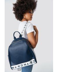 NA-KD Blue Accessories Backpack