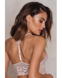 Free People Pink Corsets Racer Bralette