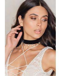 Vanessa Mooney - Metallic The Sofia Choker - Lyst