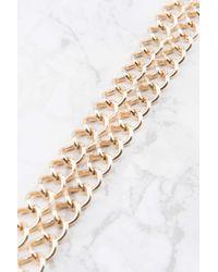 NA-KD - Metallic Double Chain Choker - Lyst