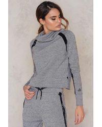 Calvin Klein | Gray Helene Funnel Sweatshirt | Lyst