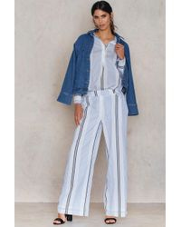 FWSS - Blue Wait For Life Trousers - Lyst