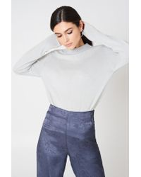 Rut&Circle Gray Cailyn Turtle Sweat Grey