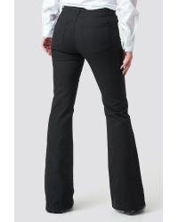 Trendyol Flared High Waist Jeans in het Black