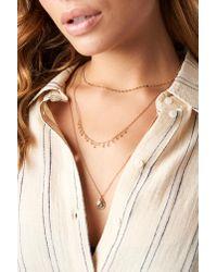 Mango - Metallic Chambery Necklace - Lyst