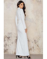 Toby Heart Ginger - White Gigi Cut Out Formal Dress - Lyst
