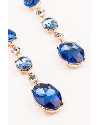 NA-KD - Blue Multi Shaped Hanging Earrings - Lyst