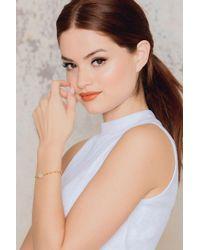 Vanessa Mooney | Metallic My Heart Moonstone Bracelet | Lyst