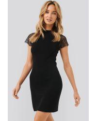 Mango Black Crawford Mini Dress