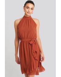 Sisters Point N Greto Dress in het Orange