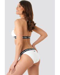 Fila White Sally Bikini Top