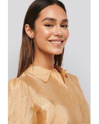 Mango Metallic Julie Earrings