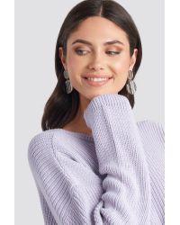 Mango Evans Earrings in het Gray