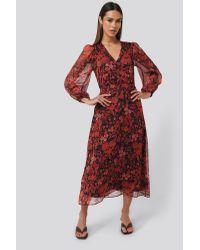 Mango Red Winona Dress