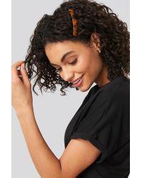 NA-KD Resin Hair Comb Brown
