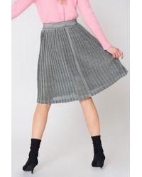 Just Female Metallic Lemaire Skirt