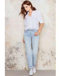 NA-KD Blue Vintage 501 Levis Jeans
